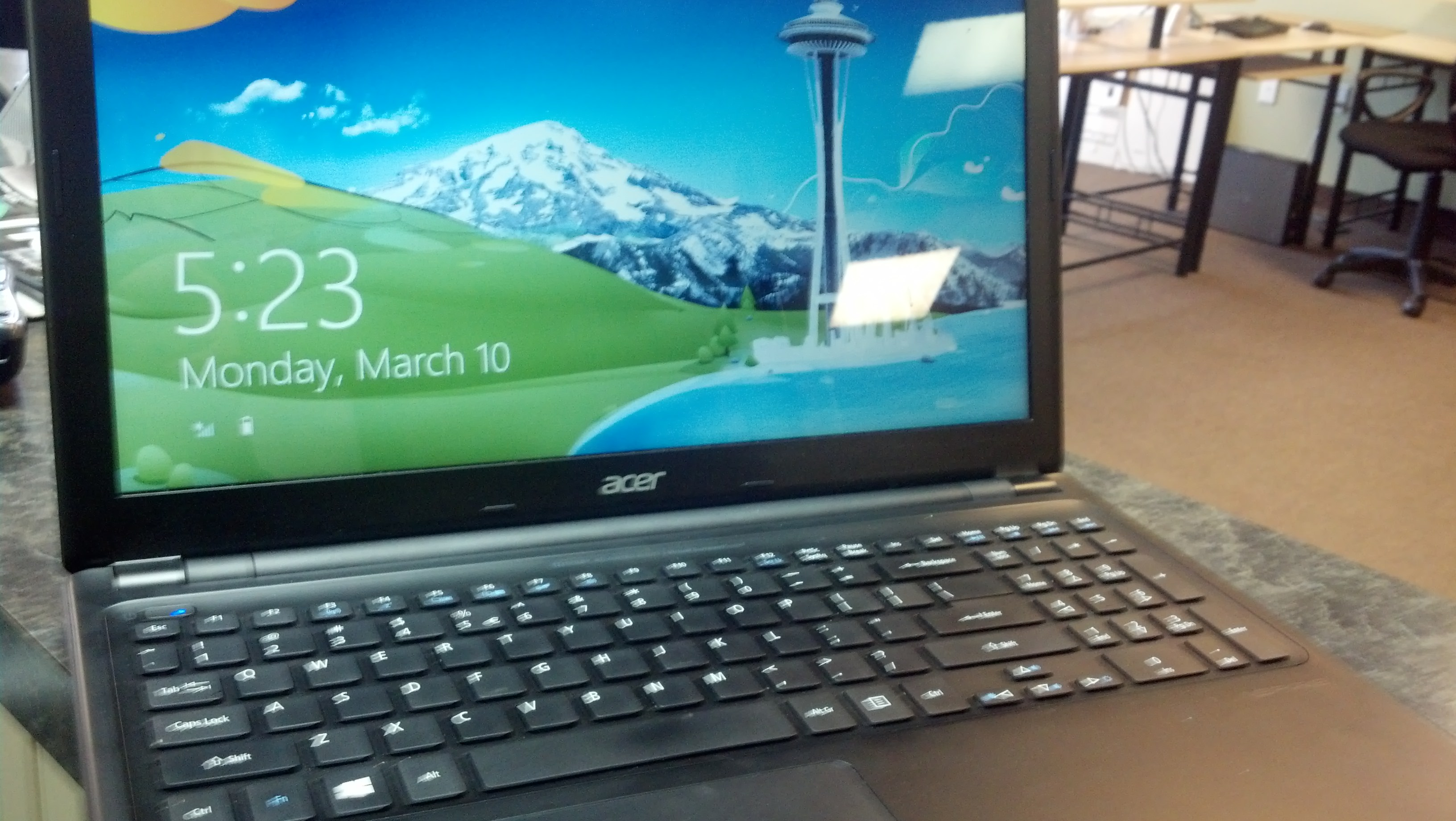 Acer V5 No Boot & Black Screen Windows 8 - Logistics