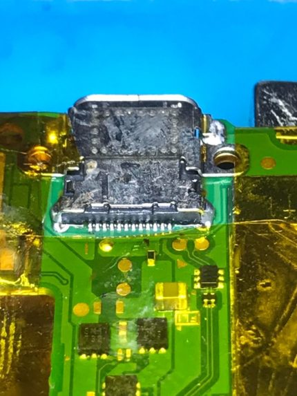 nintendo switch USB-C charging port repair