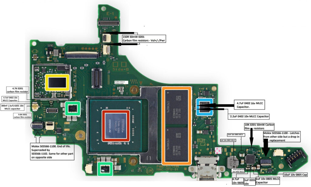 Switch Schematic Parts